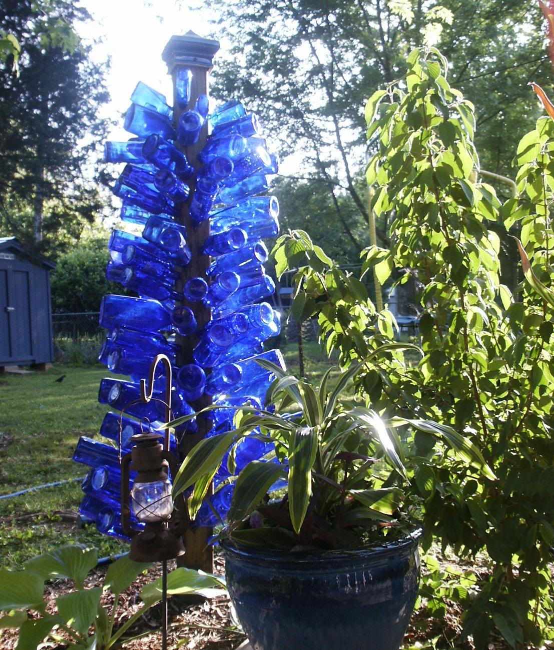 The Blue Bottle Tree