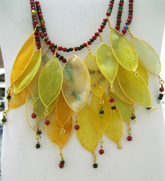 Leaf Necklace by Gilladian