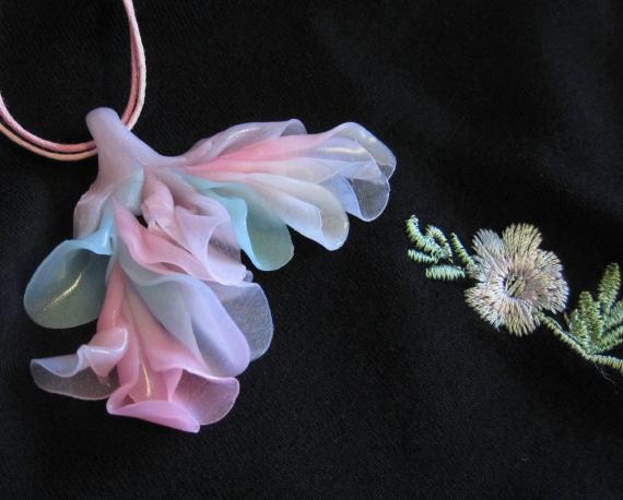 Fairy Breath Pendant by Pat's Paraphernalia