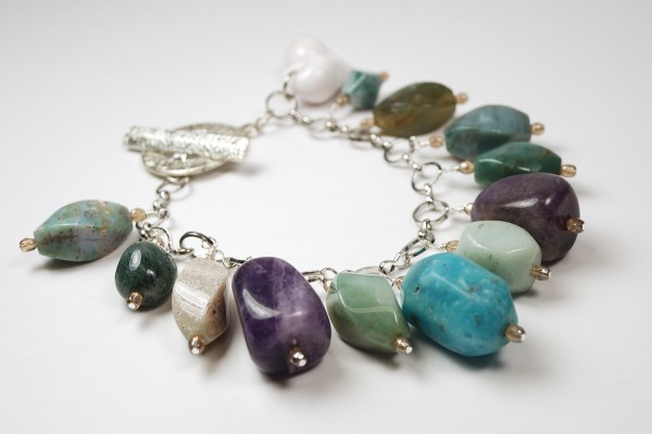 Bead Soup Rock Bracelet.