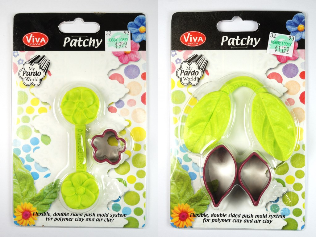 Review of Patchy Molds for polymer clay by The Blue Bottle Tree.