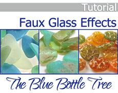 Faux Glass Tutorial for Polymer Clay
