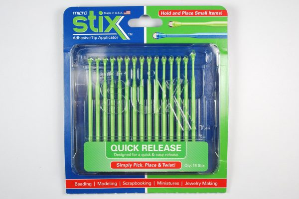 Review of Micro Stix quick release by The Blue Bottle Tree.