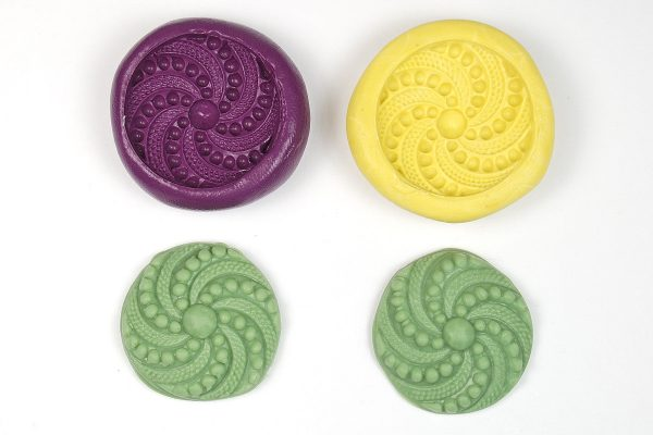 Read about Amazing Mold Putty vs EasyMold to create molds for use with polymer clay.