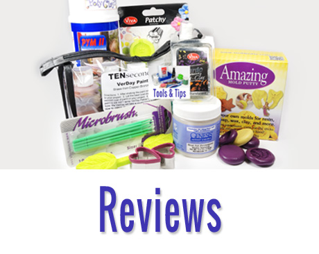 Links to product reviews.