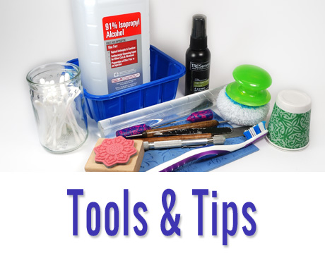 Articles about tools and tips about working with polymer clay.