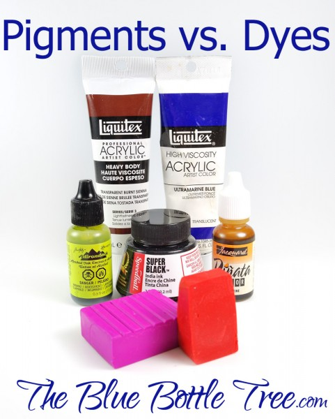 Learn the difference between pigments and dyes and how they affect your art. What are they and what is the difference?