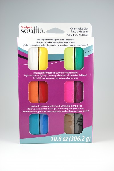 Sculpey Souffle polymer clay Multi Pack