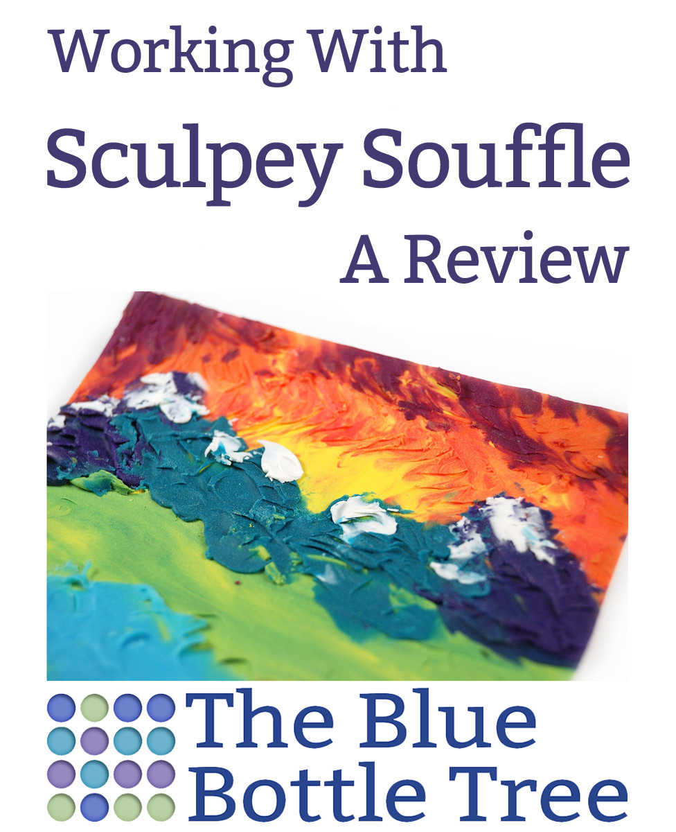 Learn about the unique features of working with Sculpey Souffle, a relatively new and unique brand of polymer clay.