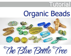 Organic Beads Tutorial on Etsy