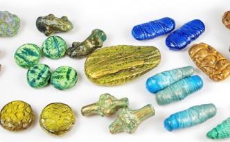 Organic Beads Polymer Clay Tutorial