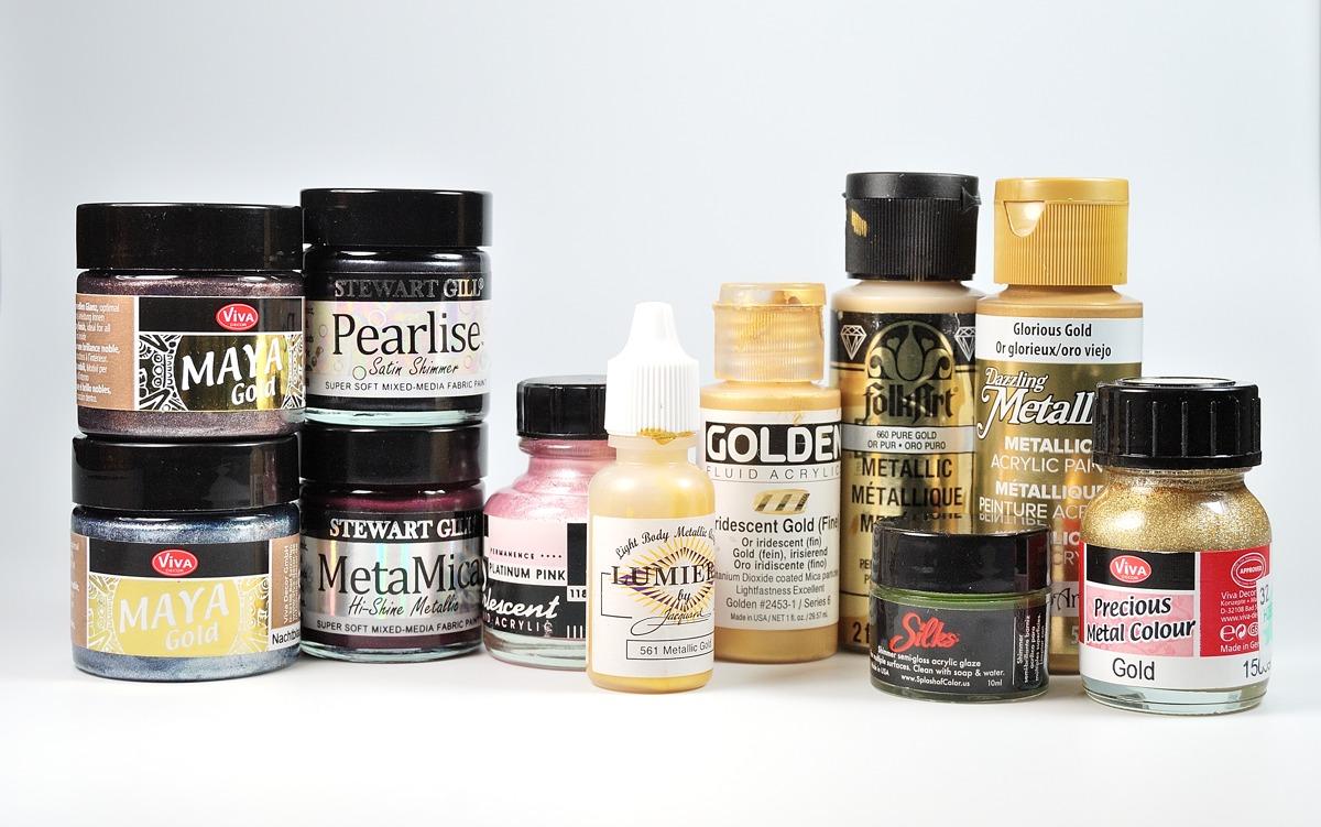 Acrylic Paint Test Pots