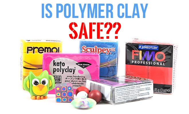 Is polymer clay safe? Find out in the article at The Blue Bottle Tree