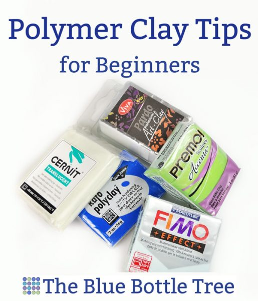 Helpful tips for beginners working with polymer clay. More at The Blue Bottle Tree.