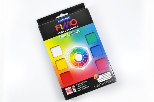 Fimo Professional true colors multi-pack of polymer clay by Staedtler.