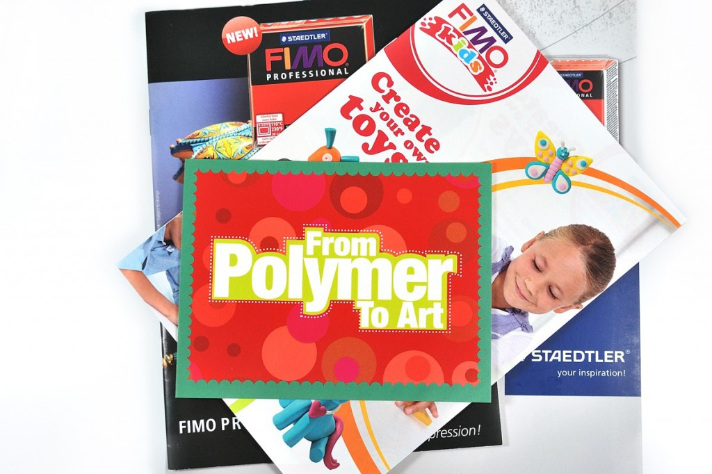 I got great swag from Saskia and Marjon when they sent by contributor's copy of their magazine, From Polymer to Art.
