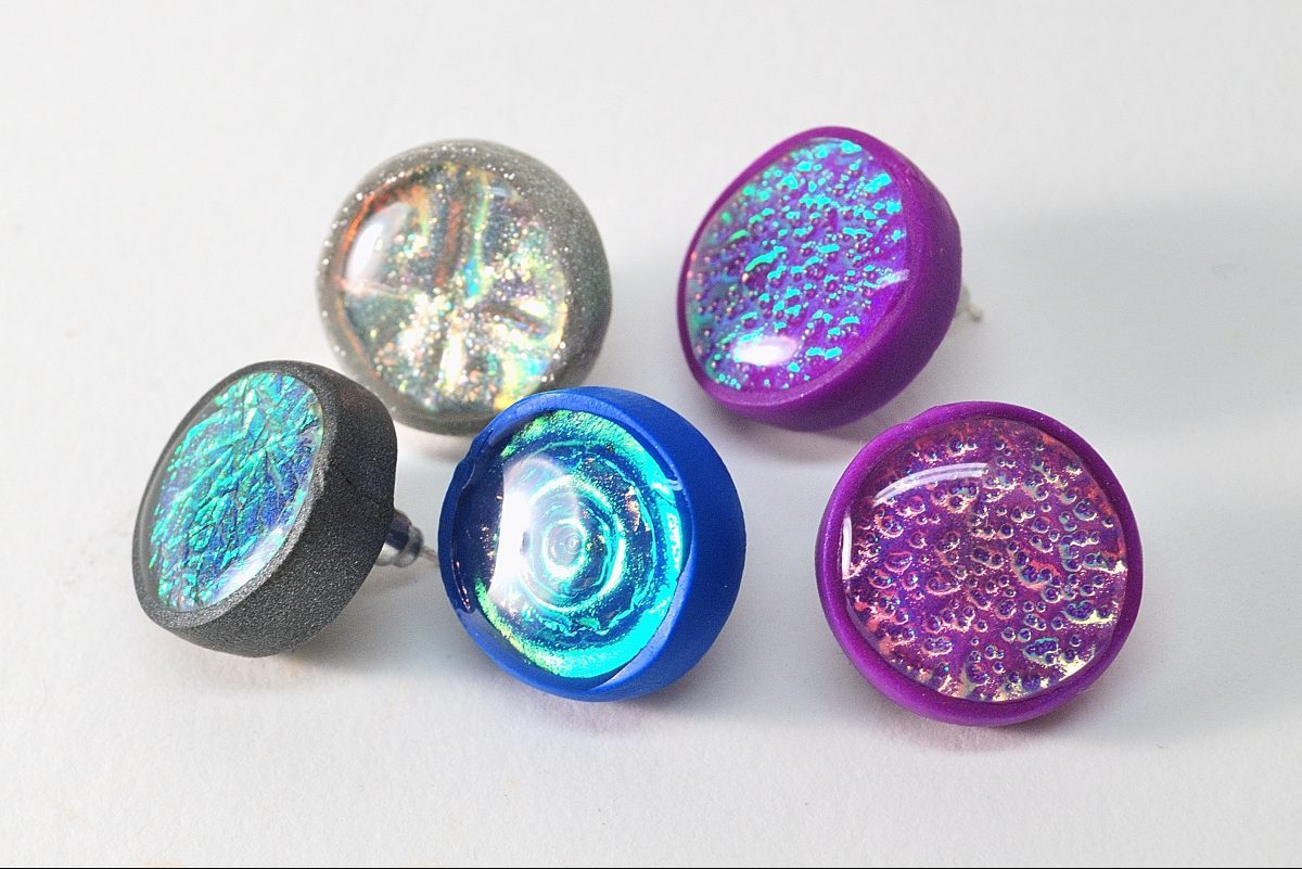 Holo Earrings are an eye-catching way to use the Holo Effect on a small scale. So much fun.