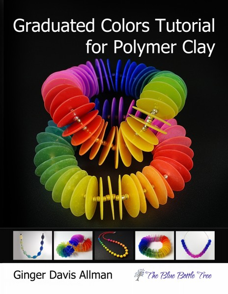 Graduated Colors Tutorial for Polymer Clay by Ginger Davis Allman of The Blue Bottle Tree
