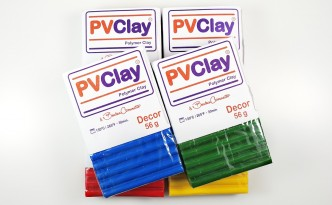PVClay, a polymer clay from Brazil