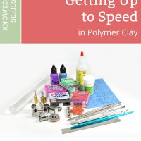 "If you're new to polymer clay, this primer will tell you what you need to know to ""get up to speed"" when coming to polymer clay from other crafts."