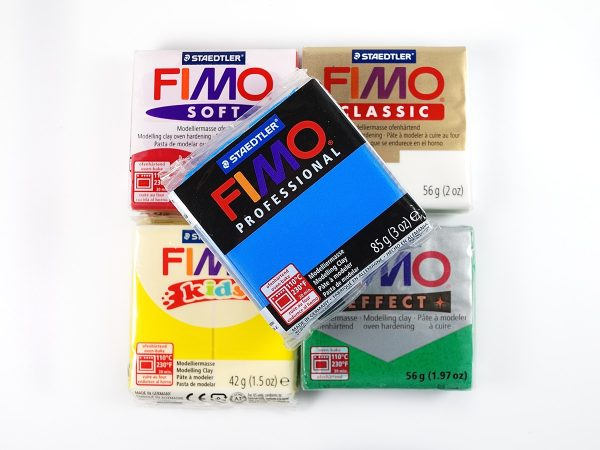 Fimo makes several varieties of polymer clay.
