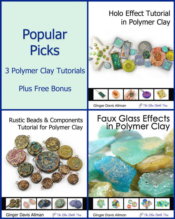 This bundle of popular picks are my most popular polymer clay