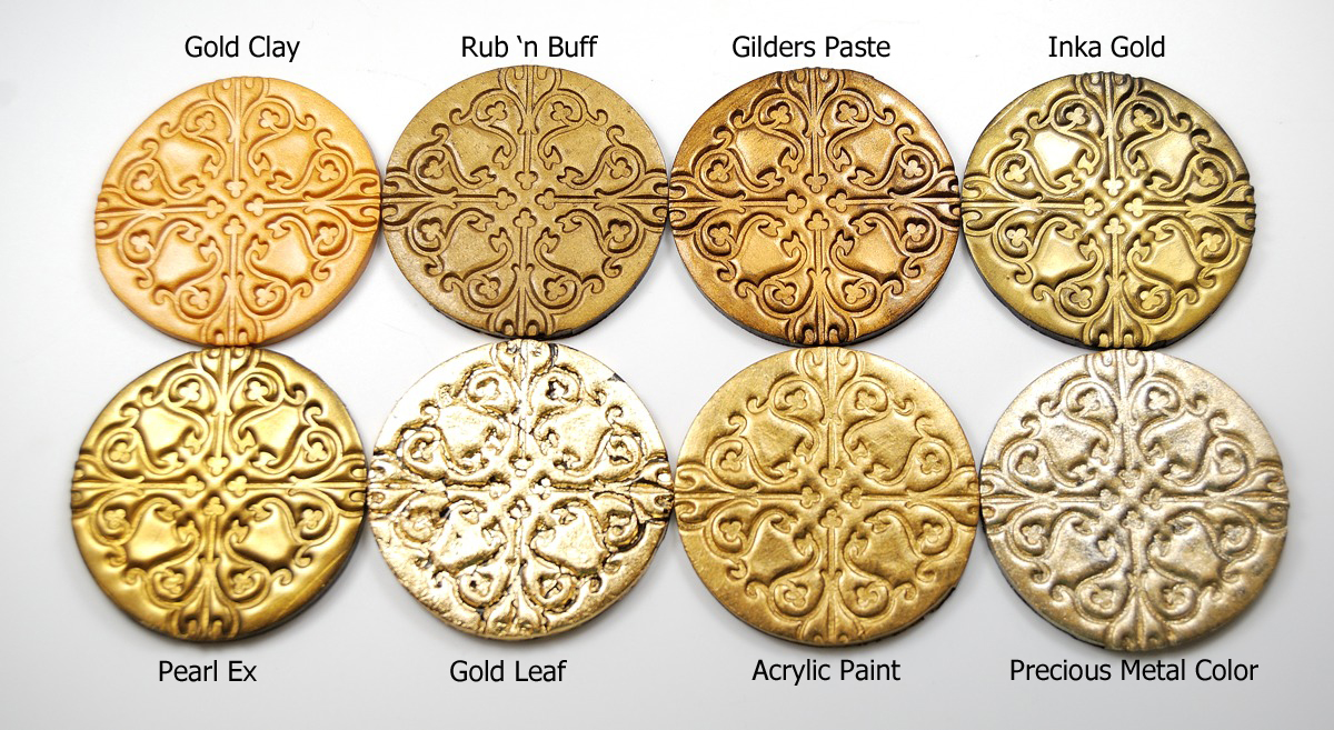 Metal Clay Gold Paint