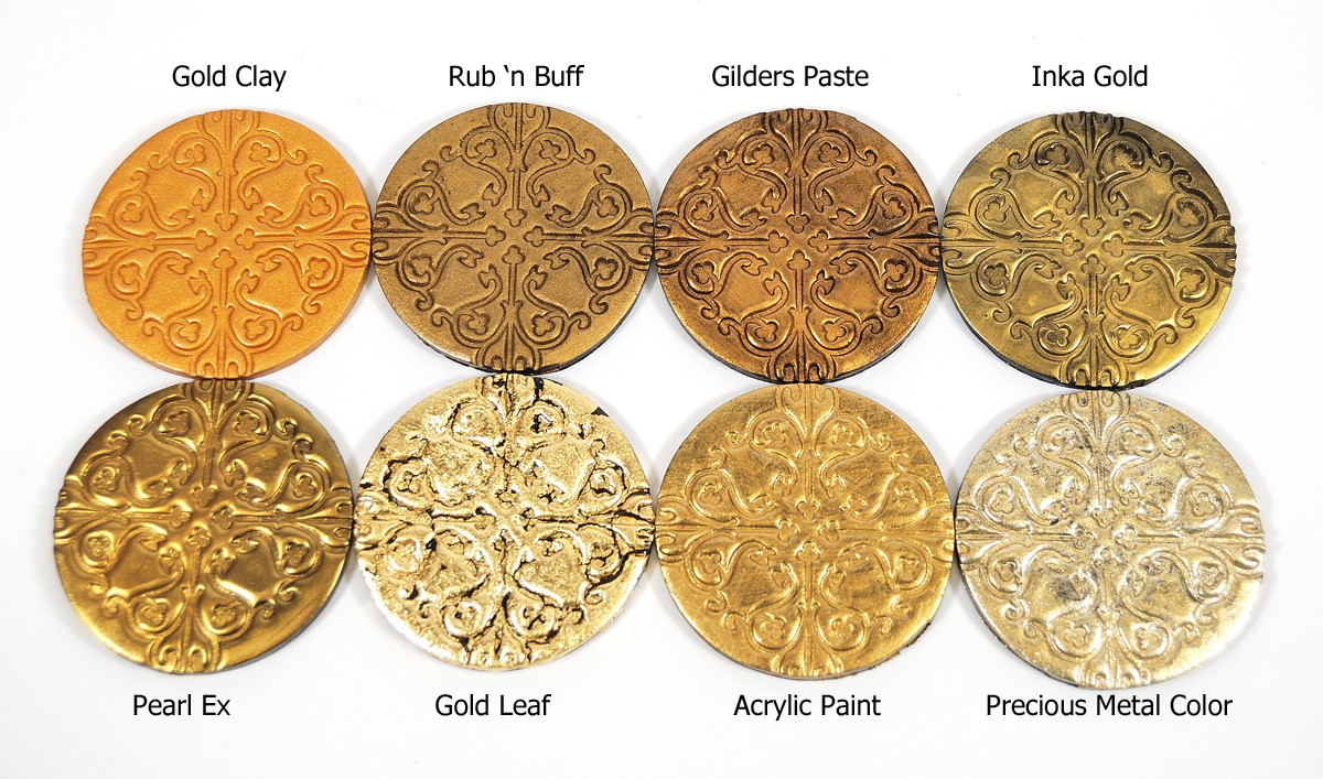 Make Your Own Metal-Look Charms: Epoxy Clay and Resin ...