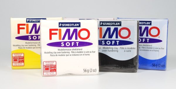 Fimo soft polymer clay, a good all-purpose brand.
