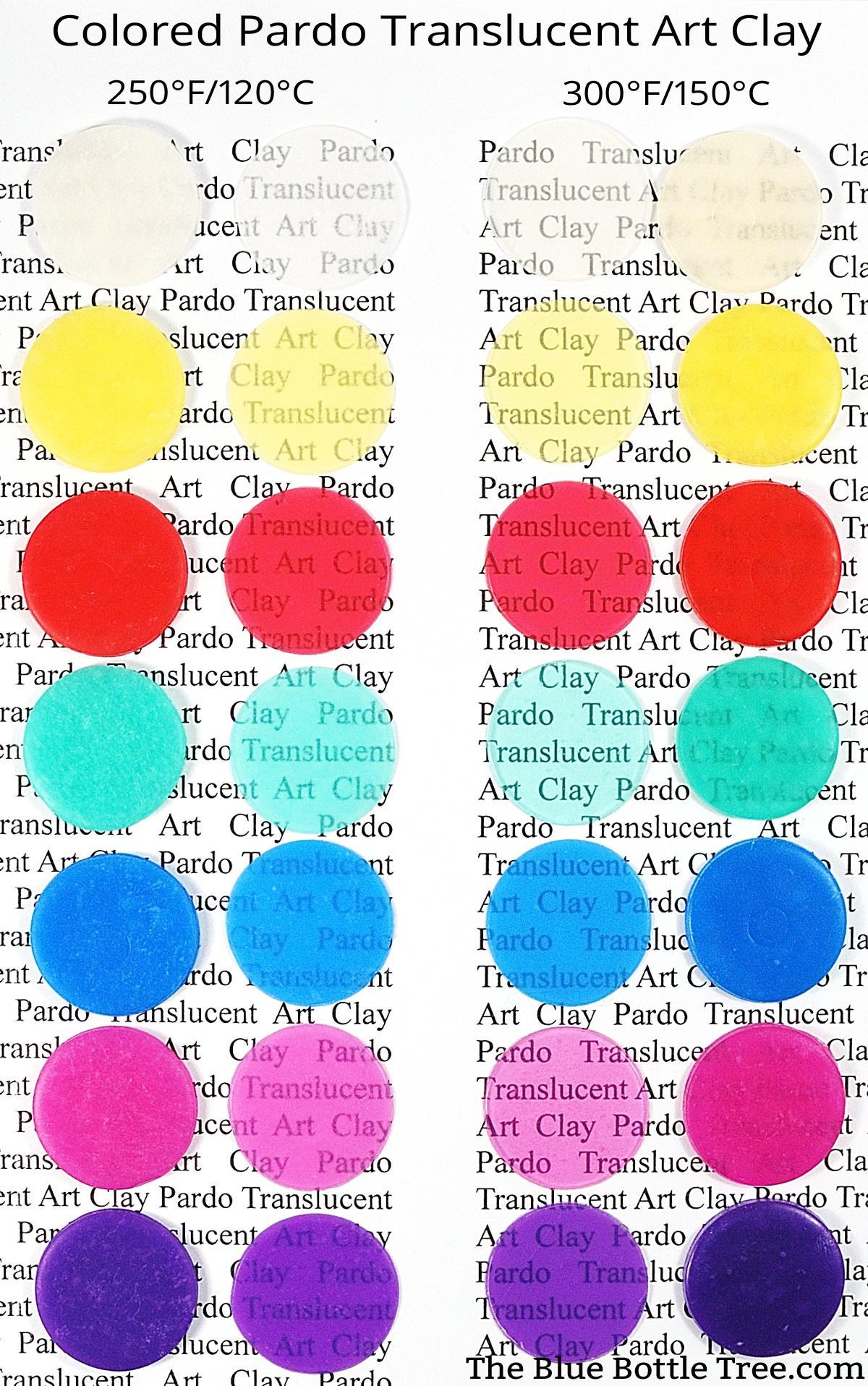 Pardo Colored Translucent Clay