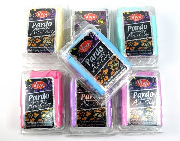 Pardo Translucent Art Clay now comes in a full range of colors. See the review at The Blue Bottle Tree.
