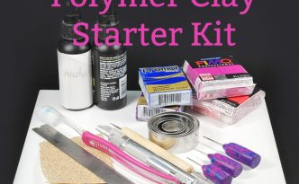Learn to make your own polymer clay starter kit. What tools are really needed?