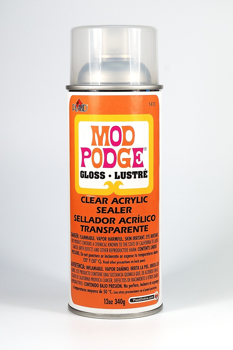 Mod Podge Acrylic Spray Sealer Is Not Compatible With Polymer Clay And Will Remain Sticky