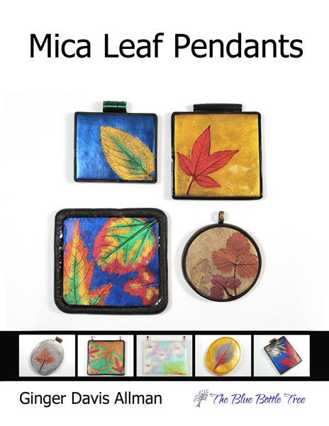 Use polymer clay and fall leaves to create pendants with this free mica leaf pendant tutorial from The Blue Bottle Tree.