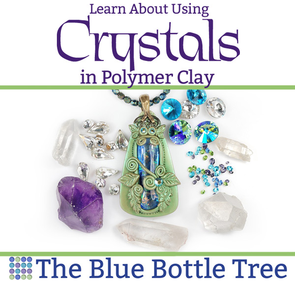 Learn about using crystals in polymer clay. Can you bake them in the clay  c45c0af8ba07