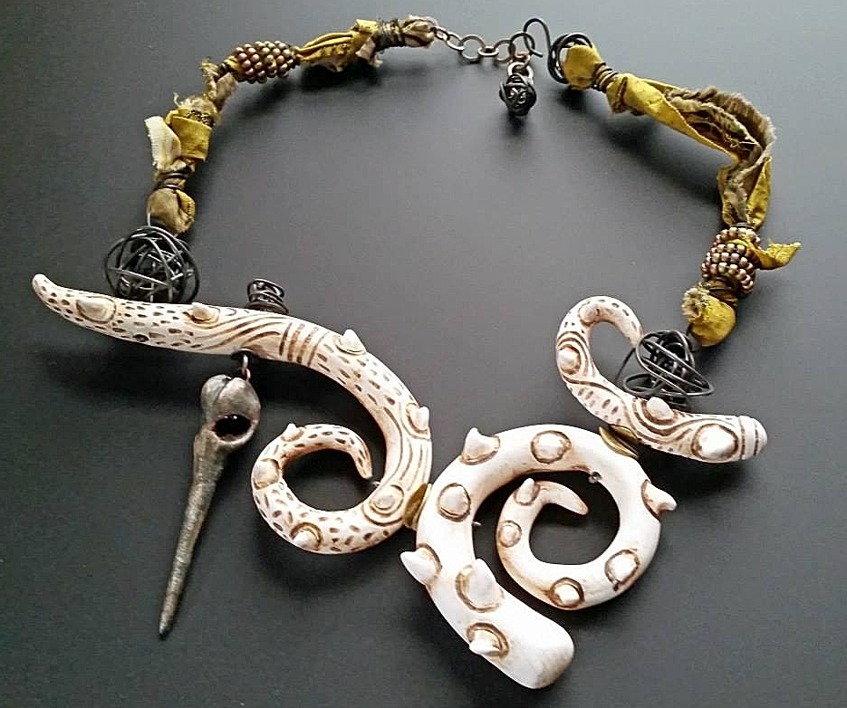 Staci Louise Smith necklace with tentacles