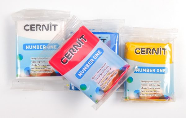 Cernit Number One packages