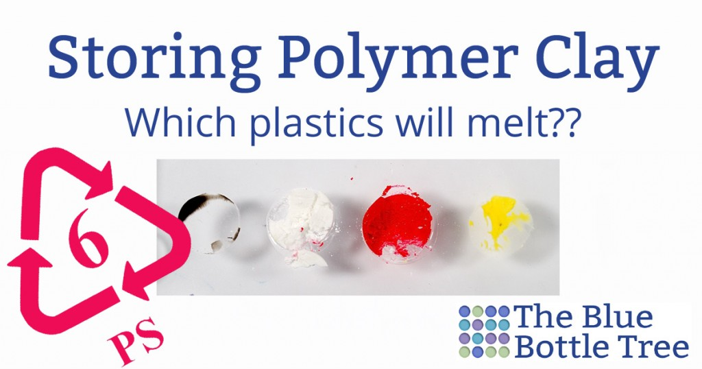 Does polymer clay melt plastic? Find out from The Blue Bottle Tree.
