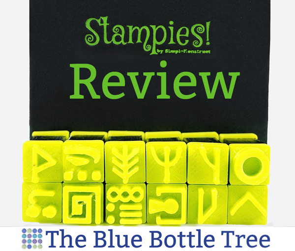 Learn about Stampies for use with polymer clay. Read the review at The Blue Bottle Tree.