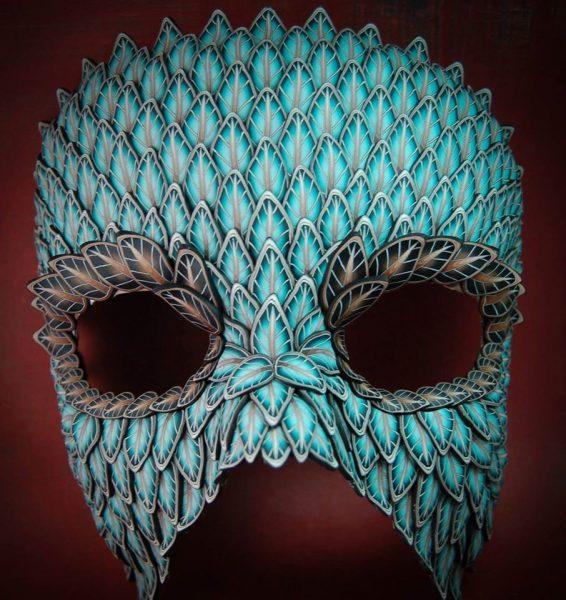 Polymer Clay Mask Ivy Niles of iKandiClay