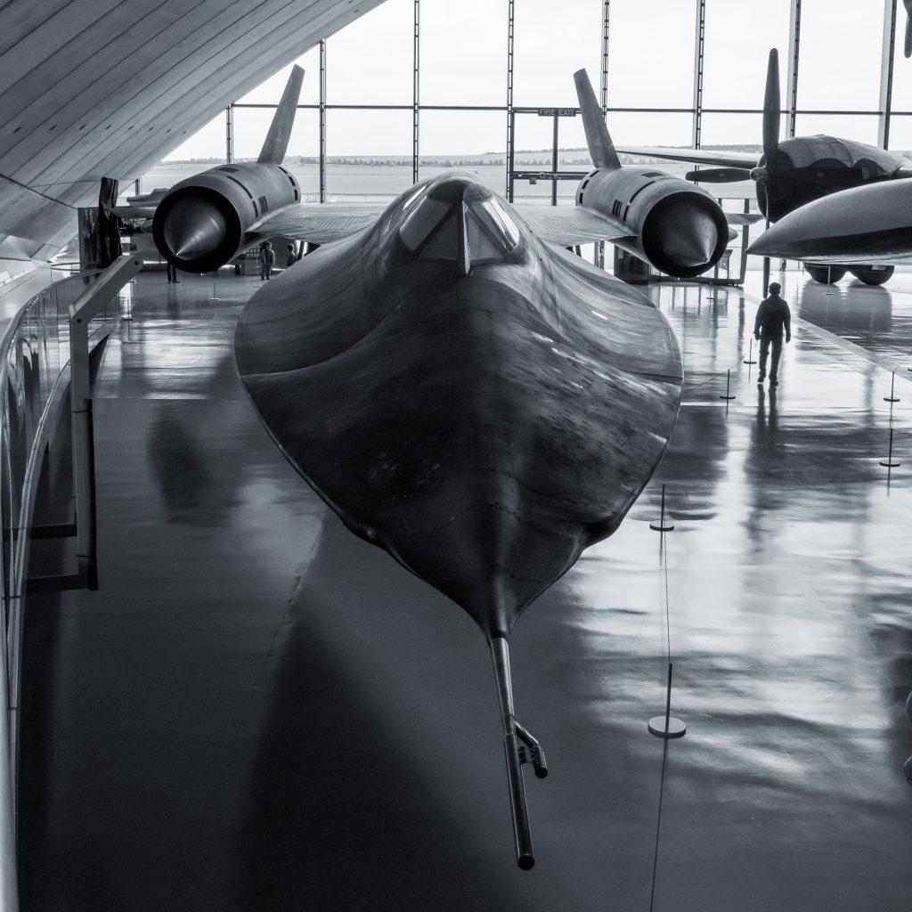 SR-71 Blackbird at the Imperial War Museum in Duxford