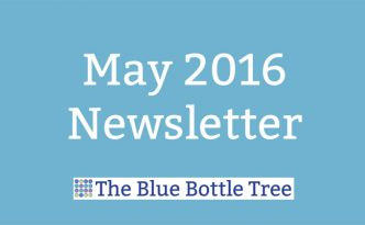 Read May's newsletter from the polymer clay information and tutorials website The Blue Bottle Tree.