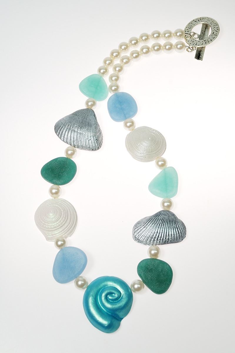 faux sea glass jewelry the blue bottle tree