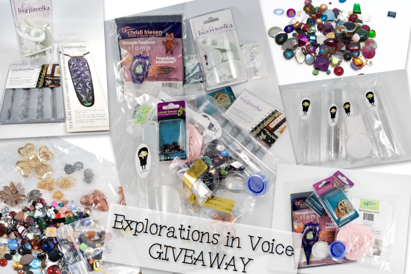 Win this wonderful package of goodies by entering the Explorations in Voice Giveaway.