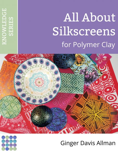 Learn everything you need to know about using silkscreens on polymer clay in this comprehensive eBook from Ginger at The Blue Bottle Tree.