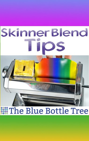 Skinner blends are invaluable for polymer clay work. Get better results with these skinner blend tips.