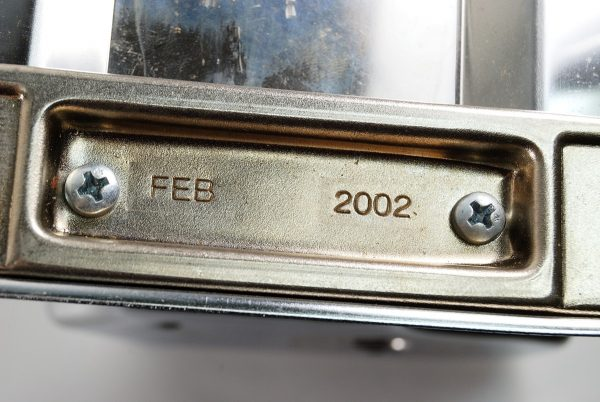 You can find the manufacture date of your Atlas pasta machine by looking on the bottom.