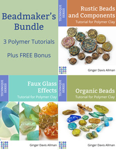 Beadmakers Bundle of Tutorials for Polymer Clay