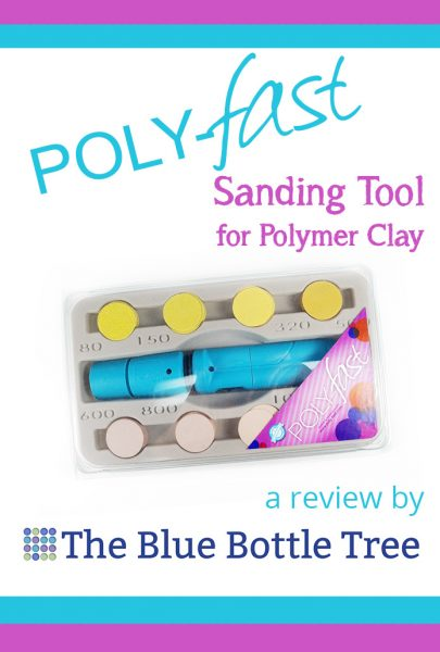 Read the review about the Poly-Fast sanding machine for polymer clay. Will it make sanding easier?