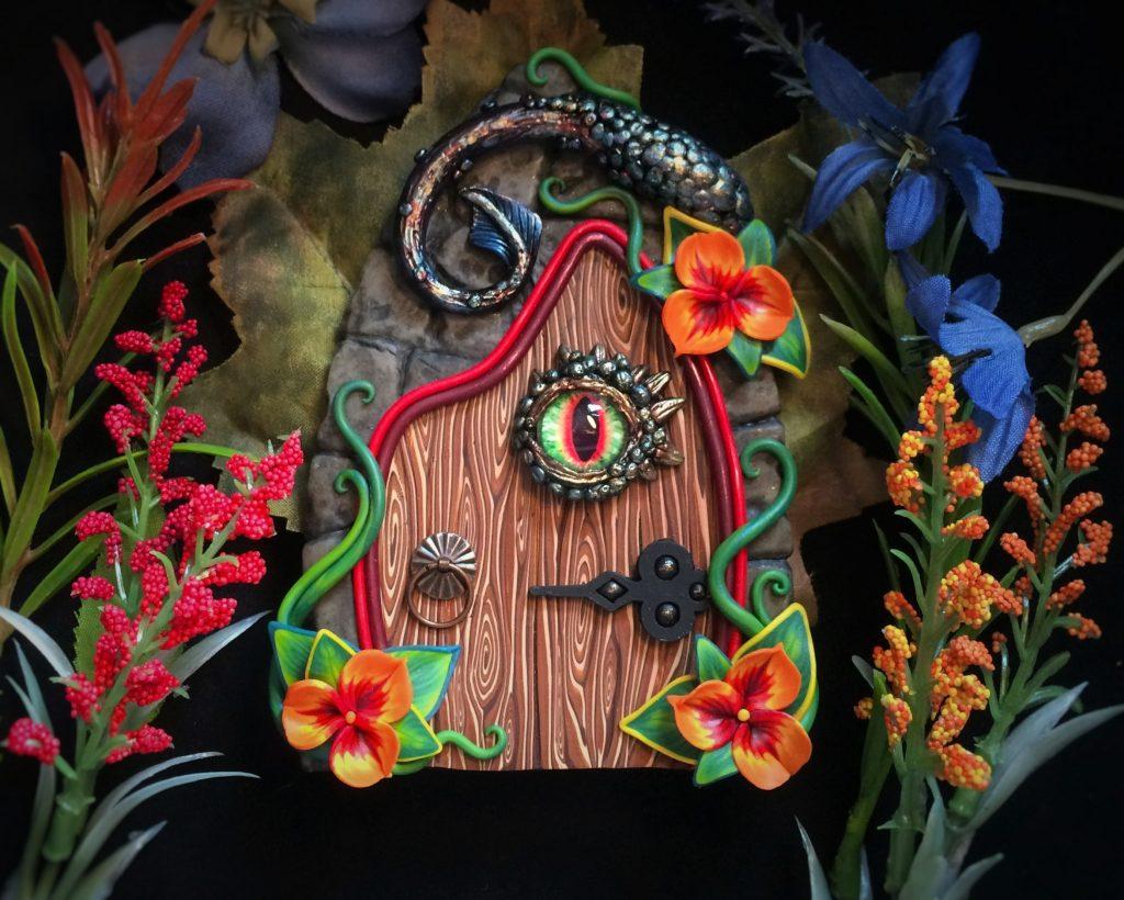 Dragon Door by Jennifer Sorensen of Wishing Well Workshop
